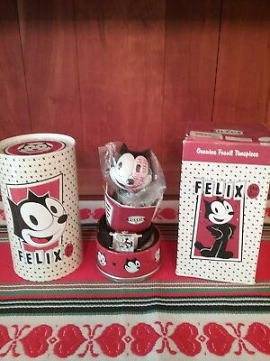 NEW IN BOX Fossil Felix the Cat Watch  Bobble head #4/5000! Highly Collectible