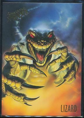 1995 Fleer Ultra Spider-Man Premiere Trading Card #35 Lizard