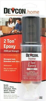 Devcon 31345 High Strength 2 Ton S31 Clear Plactic Welder Epoxy Glue Adhesive