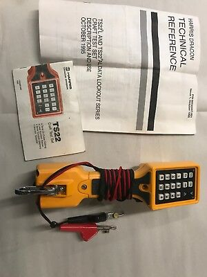 Fluke Networks TS22A Test Set w/manual. Free Shipping