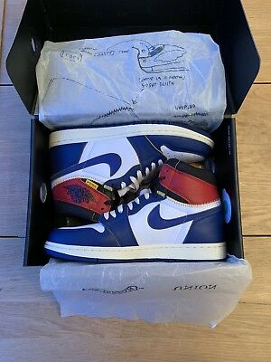 29a28bc0de6b Nike Air Jordan 1 Union LA Storm Blue Uk8.5