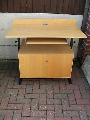 Standing Desk Warehouse Table Lectern Meeting Room Computer Podium Storage Unit