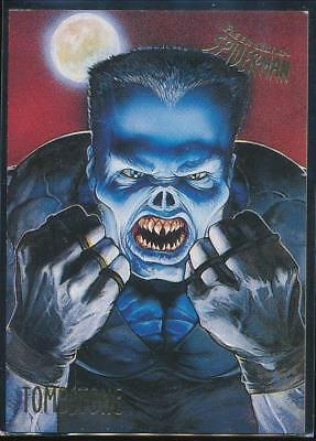 1995 Fleer Ultra Spider-Man Premiere Trading Card #59 Tombstone