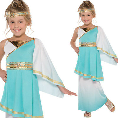 663bc907f96 GIRLS TOGA ROMAN Goddess Costume Fancy Dress Greek - £19.99 ...