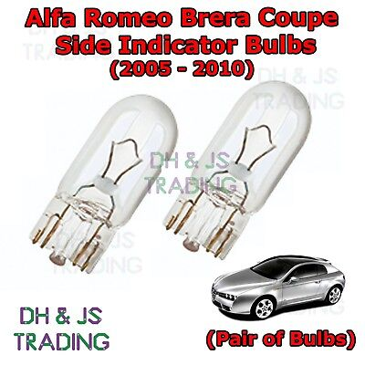Fits Alfa Romeo Brera 2.4 JTDM 20V White 54-SMD LED 12v Side Light Parking Bulbs