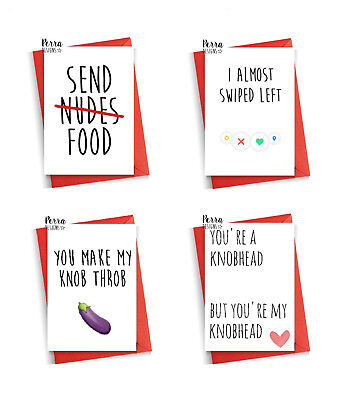 funny valentines day cards cheeky humour dirty adult mature love valentine card