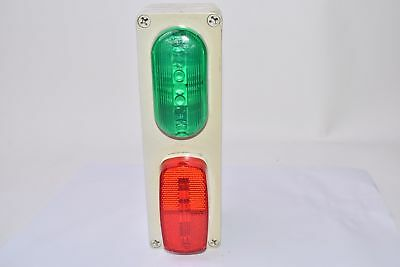 Signal-Stat 77-556 Green & Red Lens W/ Hi Box Enclosure