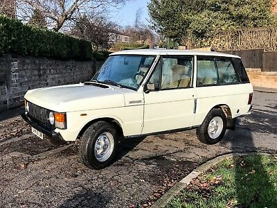1981 Classic Range Rover 3.5 v8 manual *LOW MILES*