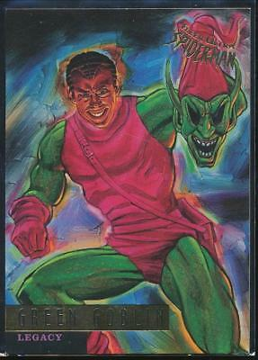 1995 Fleer Ultra Spider-Man Premiere Trading Card #80 Green Goblin