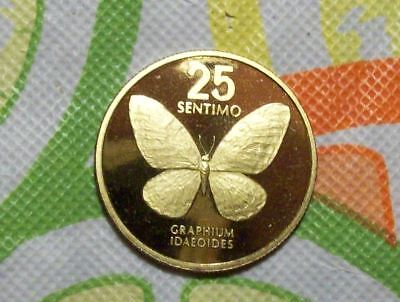 Philippines 1983 Proof 25 Sentimo KM# 241.1-Mintage of 750!