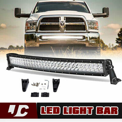 LED Light Bar 32inch 180W Combo+4/'/' 18W Pods Flood Truck Boat Offroad Lamp 30//33