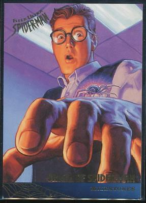 1995 Fleer Ultra Spider-Man Premiere Trading Card #85 Origin of Spider-Man