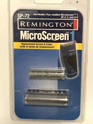 NEW, CUT BOX Silver Remington SP-72 Replacement Head /& Cutter for SF-3BT