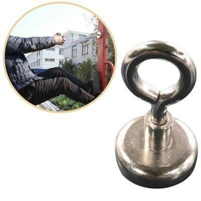 Strong Powerful Round Neodymium Fishing Magnet with Countersunk Hole and Eyebolt