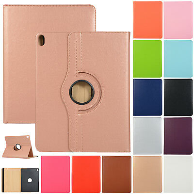 For iPad 9.7 2018 6th Gen Case Smart Leather 360 Rotating Stand Shockproof Cover