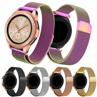 18mm Milanese Loop Magnetic Wrist Watch Strap Band For FOSSIL Q Venture Gen 3