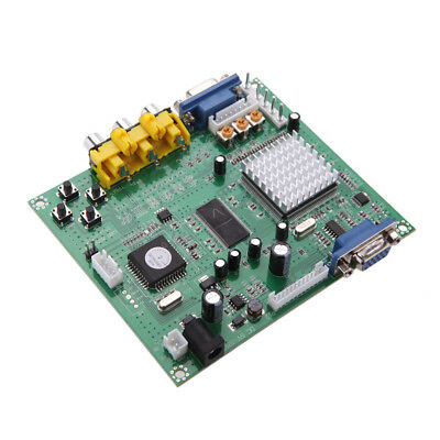 Gonbes GBS8200 CGA/EGA/YUV/RGB to VGA Arcade Game HD Video Converter Board X7X6