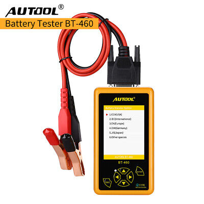 Autool BT-460 Car Battery Tester Charging System Analyzer for 12V 24V Vehicle