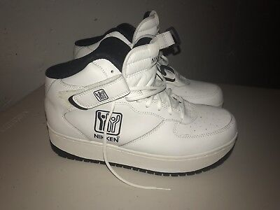 71f0c0f82661 Nikken Cardiostrides Weighted Shoes White High Top Sneakers Womens Size 9  in Box