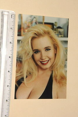 3466, 4x6 glossy color test shot Rachel Love adult actress 1980's