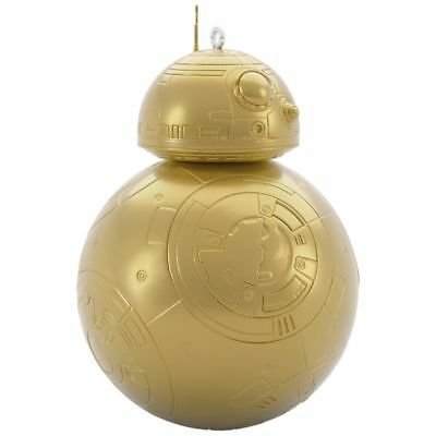 2018 Hallmark BB-8 MYSTERY Surprise Star Wars GOLD metallic ORNAMENT