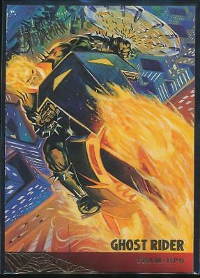 1995 Fleer Ultra Spider-Man Premiere Trading Card #118 Ghost Rider