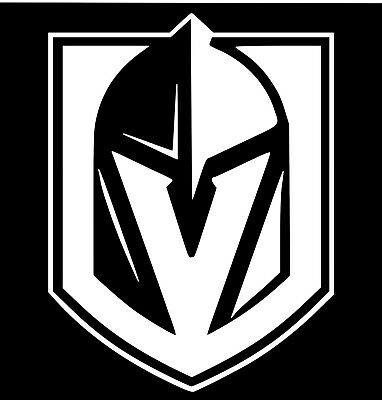 "10/"" VEGAS GOLDEN KNIGHTS #2 vinyl decal"