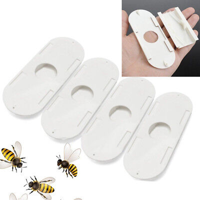4Pcs Beekeepers Porter Bee Escapes White Beekeeping Beekeeper Equipment Tool Kit