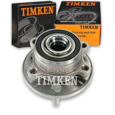 Timken Rear Wheel Bearing & Hub Assembly for 2011-2017 Ford Explorer Left tz