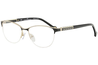a8a6e315230 CH Carolina Herrera Eyeglasses VHE079K VHE 079 K 0SNQ Black Optical Frame  53mm