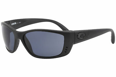 1cff44e7c2 Costa Del Mar Fisch FS01 FS 01 Blackout Rectangle Polarized Sunglasses 64mm