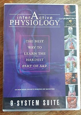Interactive Physiology 9-System Suite: CD-ROM Student Version by Benjamin...