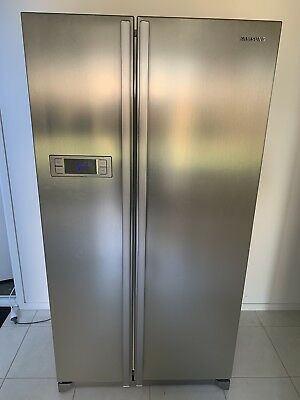 Samsung Refrigerator Side By Side Stainless Steel 600l 50000