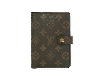 Authentic Louis Vuitton Monogram Agenda PM notebook cover