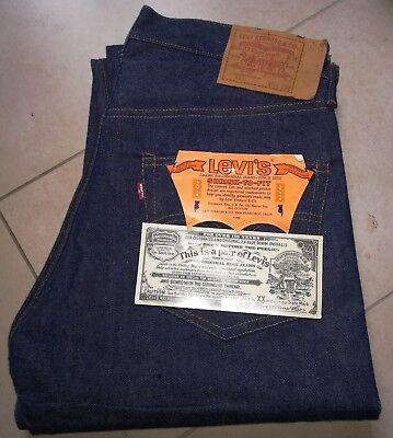 Autentico Levi's 501 Vintage 1982-1984 Red Line Selvadge W34Xl32 New Old Stock!