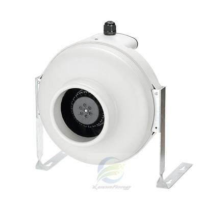 "120V 418CFM 6""Inline Centrifugal Duct Fan Hydroponic Air Blower  For Bathroom"