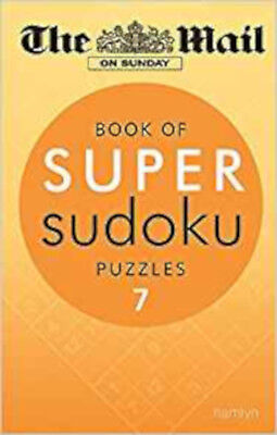 The Mail on Sunday: Book of Super Sudoku Puzzles 7, New, Mail On Sunday, The Boo