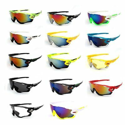 Men's Cycling Sunglasses Driving Aviator Outdoor Sport Eyewear Glasses UV400 1PC