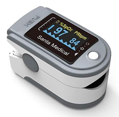 Santamedical Generation 2 SM-165 Fingertip Pulse Oximeter Oximetry Blood Oxygen