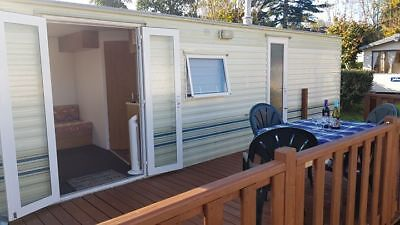 Sited Static Brittany Holiday Home - Fees Include Elec & Water - Near Beach
