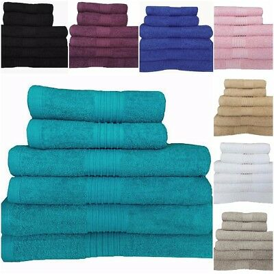 100% Egyptian Cotton Towels Set Jumbo Bath Sheet Hand Towels Large Bathroom Bale