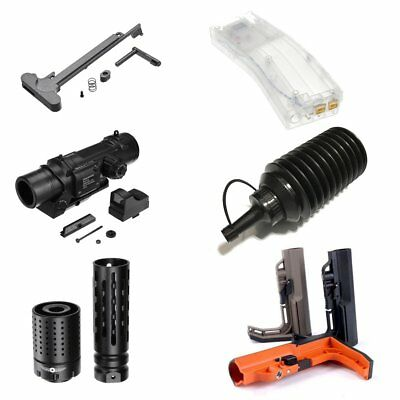 Upgrade Accessories Magazine/Scope Sights For Jinming Gel Ball Blaster Gun Toy