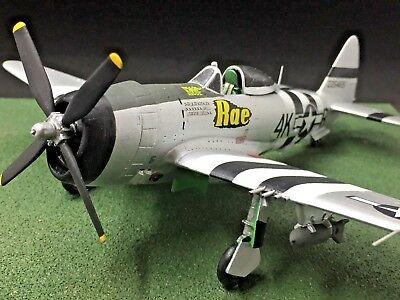 Republic P-47D 506th FS Shook- Diverse Images Ltd -Pewter Display Model