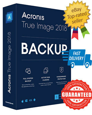 👇 🔥 Acronis True Image 2019🔥+ISO bootable Lifetime LICENSED💪 Fast Delivery🚚