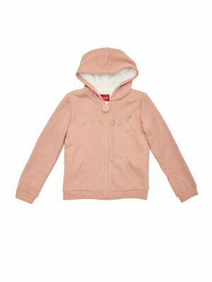 GUESS Factory Girl's Gabriella Faux-Fur Lined Hoodie (7-16)