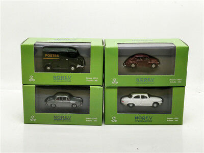 Norev 1:87 Renault 4CV R16 Dauphine Panhard 4pcs in a set for sale
