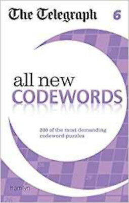 The Telegraph: All New Codewords 6 (The Telegraph Puzzle Books), New, THE TELEGR