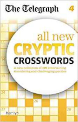 The Telegraph: All New Cryptic Crosswords 4 (The Telegraph Puzzle Books), New, T