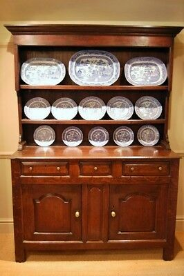 Late C18th Oak Welsh Dresser from the Ruthin Area