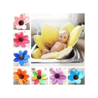 Bath Tub Seat for Baby Blooming Lotus Flower Baby Bath Seat